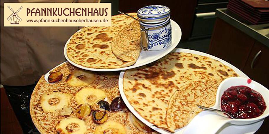 Freuen Sie sich auf original holländische Pannekoeken im Pfannkuchenhaus in Oberhausen