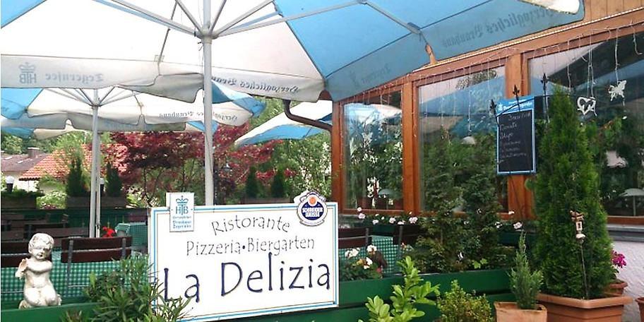 Einladende, gemütliche Atmosphäre im Ristorante La Delizia in Dürnbach / Gmund