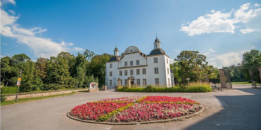 In der kleinen Schlosskapelle von Schloss Borbeck sind kirchliche Trauungen möglich