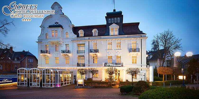 Gutschein für Eure Aus.Zeit zum halben Preis! von Göbel's Hotel Quellenhof****