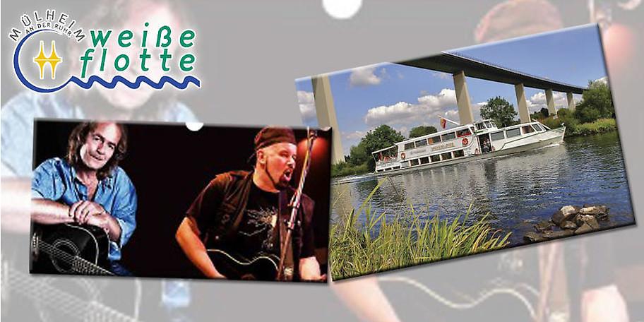 Rock the Boat mit Live-Band am 23.07.2017 auf der Weißen Flotte