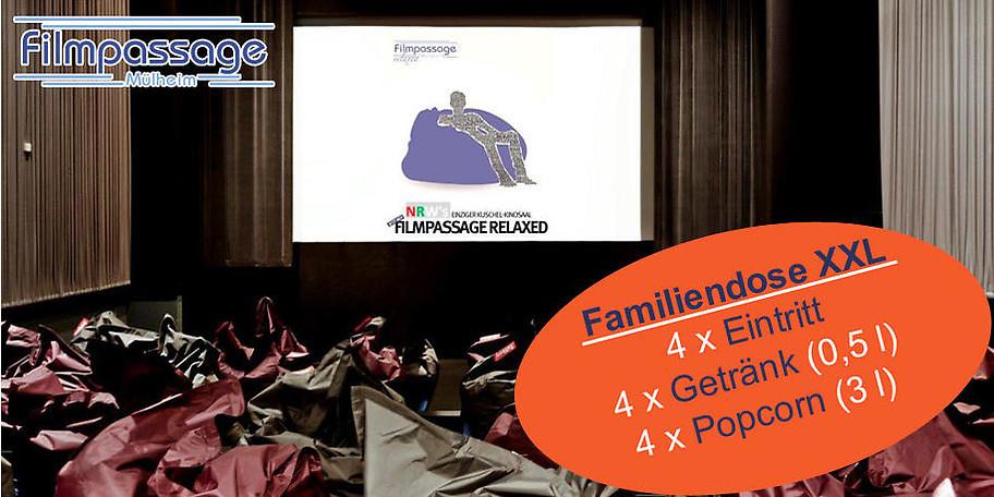 Das Kinoerlebnis für die ganze Familie in der Filmpassage Mülheim