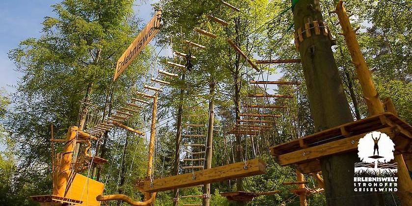 Gutschein für 1 Tag Klettern für Erwachsenen zum halben Preis! von Erlebniswelt Strohofer