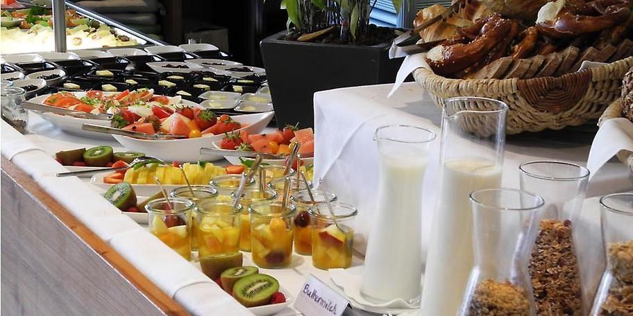 Beim Frühstücksbuffet ist für jeden was dabei