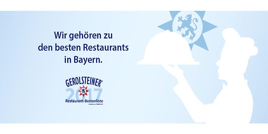 ANNA gehört zu den besten Restaurants in Bayern