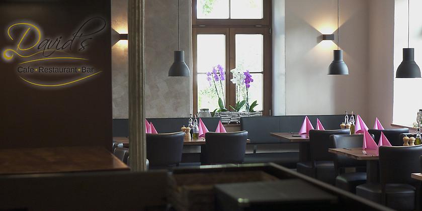 Gutschein für Kunst der Küche von David's Cafe-Bar-Restaurant