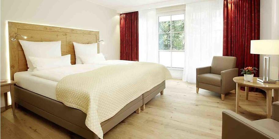 Wohnbeispiel Ihres gemütlichen Zimmers im Hotel Deimann
