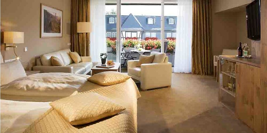 Alle Zimmer bieten bewusst Ausblick zum Wald, Innenhof oder der Südseite