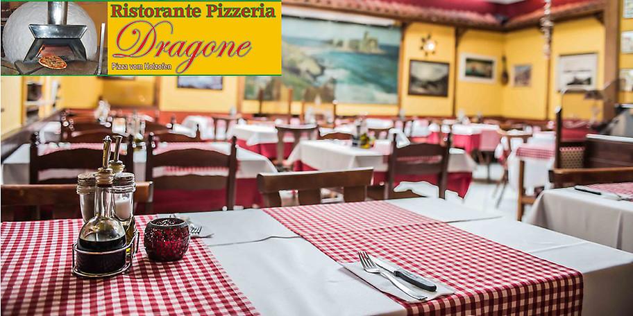 Gutschein - Ristorante Pizzeria Dragone - 25,- € statt 50,- €